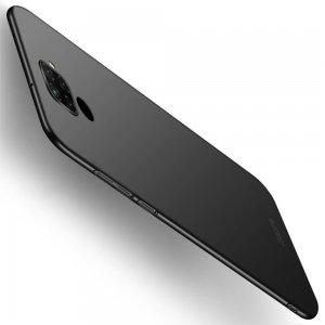 Mofi Slim Armor Матовый жесткий пластиковый чехол для Huawei Mate 30 Lite - Черный