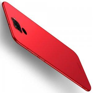 Mofi Slim Armor Матовый жесткий пластиковый чехол для Huawei Mate 30 Lite - Красный