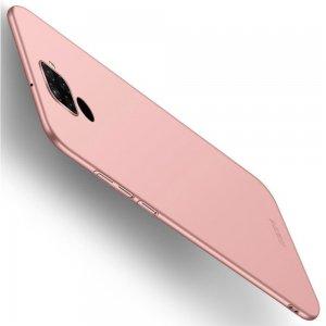 Mofi Slim Armor Матовый жесткий пластиковый чехол для Huawei Mate 30 Lite - Светло-Розовый