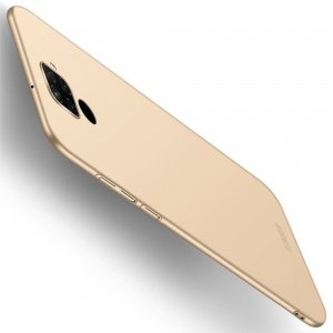 Mofi Slim Armor Матовый жесткий пластиковый чехол для Huawei Mate 30 Lite - Золотой