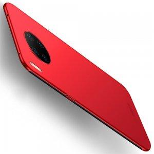 Mofi Slim Armor Матовый жесткий пластиковый чехол для Huawei Mate 30 Pro - Красный