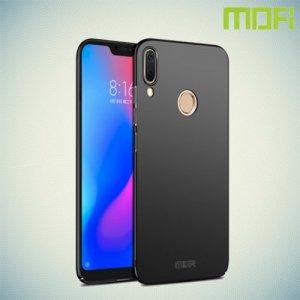 Mofi Slim Armor Матовый жесткий пластиковый чехол для Huawei Nova 3 - Черный