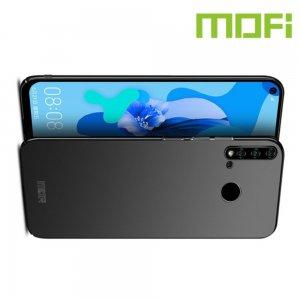 Mofi Slim Armor Матовый жесткий пластиковый чехол для Huawei P20 lite (2019) / nova 5i - Черный