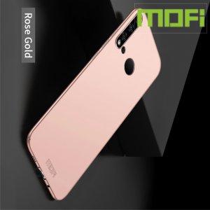 Mofi Slim Armor Матовый жесткий пластиковый чехол для Huawei P20 lite (2019) / nova 5i - Розовое Золото