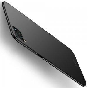 Mofi Slim Armor Матовый жесткий пластиковый чехол для Huawei P40 Lite - Черный