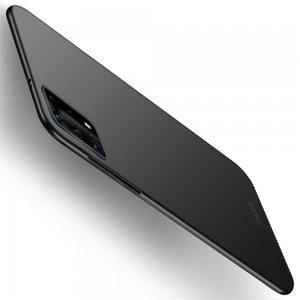 Mofi Slim Armor Матовый жесткий пластиковый чехол для Huawei P40 Pro - Черный
