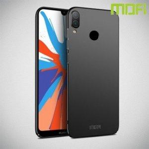 Mofi Slim Armor Матовый жесткий пластиковый чехол для Huawei Y7 / Y7 Pro 2019 - Черный