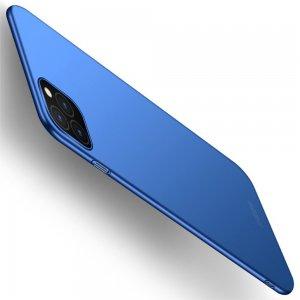 Mofi Slim Armor Матовый жесткий пластиковый чехол для iPhone 11 Pro - Синий