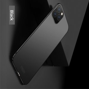 Mofi Slim Armor Матовый жесткий пластиковый чехол для iPhone 11 XI - Черный