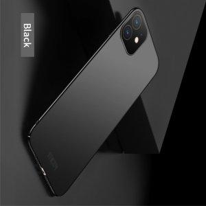 Mofi Slim Armor Матовый жесткий пластиковый чехол для iPhone 11 - Черный