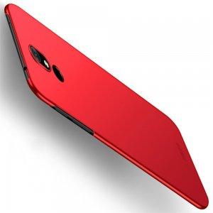 Mofi Slim Armor Матовый жесткий пластиковый чехол для Nokia 3.2 - Красный