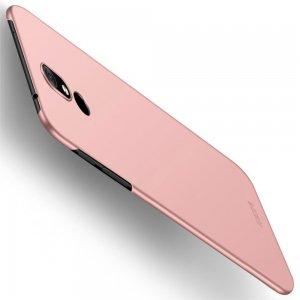 Mofi Slim Armor Матовый жесткий пластиковый чехол для Nokia 3.2 - Светло-Розовый