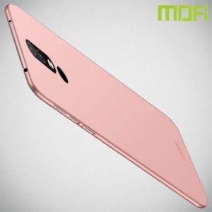 Mofi Slim Armor Матовый жесткий пластиковый чехол для Nokia 4.2 - Розовое Золото