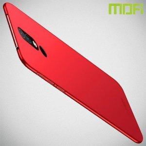 Mofi Slim Armor Матовый жесткий пластиковый чехол для Nokia 4.2 - Красный