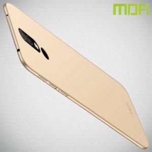 Mofi Slim Armor Матовый жесткий пластиковый чехол для Nokia 4.2 - Золотой