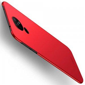 Mofi Slim Armor Матовый жесткий пластиковый чехол для Nokia 6.2 - Красный