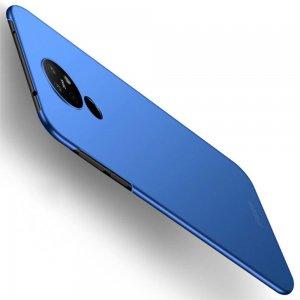 Mofi Slim Armor Матовый жесткий пластиковый чехол для Nokia 6.2 - Синий