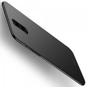 Mofi Slim Armor Матовый жесткий пластиковый чехол для OnePlus 8 - Черный
