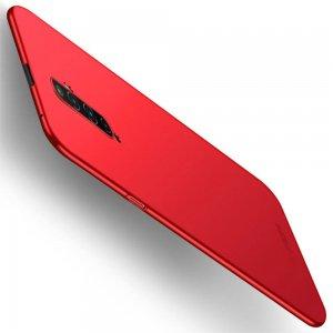 Mofi Slim Armor Матовый жесткий пластиковый чехол для OPPO Reno 2 Z - Красный
