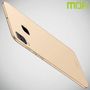 Mofi Slim Armor Матовый жесткий пластиковый чехол для Samsung Galaxy A30 / A20 - Золотой