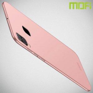 Mofi Slim Armor Матовый жесткий пластиковый чехол для Samsung Galaxy A30 / A20 - Розовое Золото