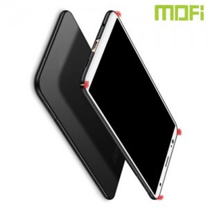 Mofi Slim Armor Матовый жесткий пластиковый чехол для Samsung Galaxy A7 2018 SM-A750F - Черный