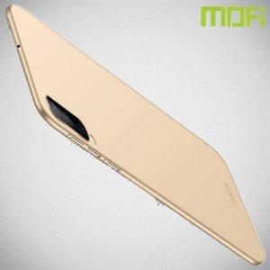 Mofi Slim Armor Матовый жесткий пластиковый чехол для Samsung Galaxy A70 - Золотой