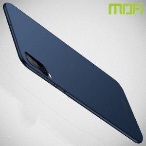 Mofi Slim Armor Матовый жесткий пластиковый чехол для Samsung Galaxy A70 - Синий