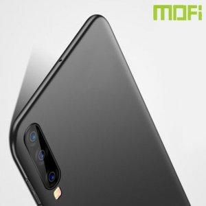 Mofi Slim Armor Матовый жесткий пластиковый чехол для Samsung Galaxy A70 - Розовое Золото