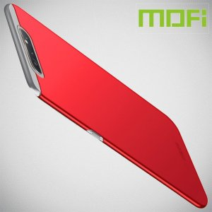 Mofi Slim Armor Матовый жесткий пластиковый чехол для Samsung Galaxy A80 / A90 - Красный