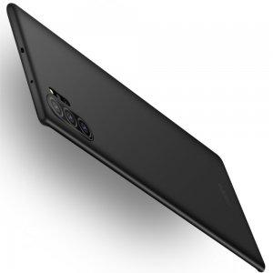 Mofi Slim Armor Матовый жесткий пластиковый чехол для Samsung Galaxy Note 10 Plus / 10+ - Черный