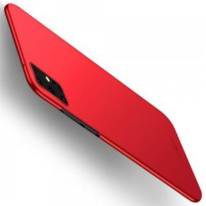 Mofi Slim Armor Матовый жесткий пластиковый чехол для Samsung Galaxy S20 Plus - Красный