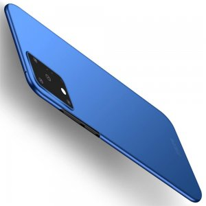 Mofi Slim Armor Матовый жесткий пластиковый чехол для Samsung Galaxy S20 Ultra - Синий