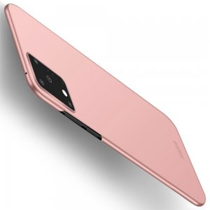 Mofi Slim Armor Матовый жесткий пластиковый чехол для Samsung Galaxy S20 Ultra - Светло-Розовый