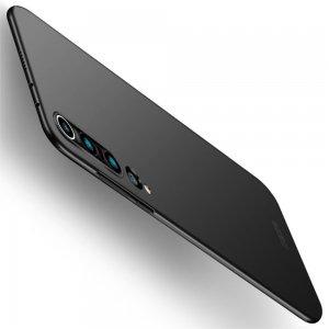 Mofi Slim Armor Матовый жесткий пластиковый чехол для Xiaomi Mi 10 / Mi 10 Pro - Черный
