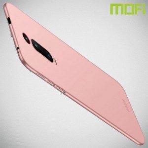 Mofi Slim Armor Матовый жесткий пластиковый чехол для Xiaomi Mi 9T - Розовое Золото