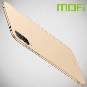 Mofi Slim Armor Матовый жесткий пластиковый чехол для Xiaomi Mi A3 - Золотой