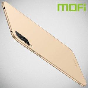 Mofi Slim Armor Матовый жесткий пластиковый чехол для Xiaomi Mi 9 lite - Золотой