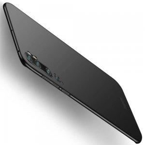 Mofi Slim Armor Матовый жесткий пластиковый чехол для Xiaomi Mi Note 10 - Черный