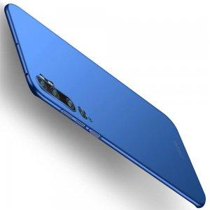Mofi Slim Armor Матовый жесткий пластиковый чехол для Xiaomi Mi Note 10 - Синий