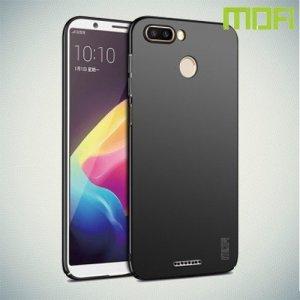 Mofi Slim Armor Матовый жесткий пластиковый чехол для Xiaomi Redmi 6 - Черный