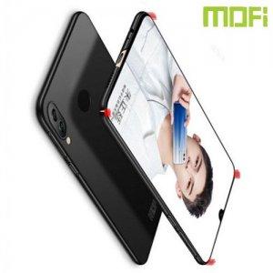 Mofi Slim Armor Матовый жесткий пластиковый чехол для Xiaomi Redmi Note 7 / Note 7 Pro - Черный