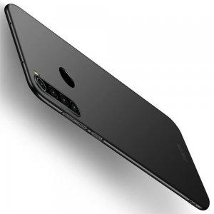 Mofi Slim Armor Матовый жесткий пластиковый чехол для Xiaomi Redmi Note 8 - Черный