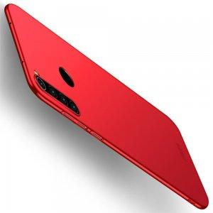Mofi Slim Armor Матовый жесткий пластиковый чехол для Xiaomi Redmi Note 8 - Красный