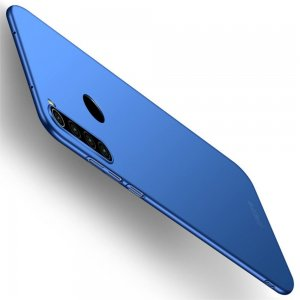 Mofi Slim Armor Матовый жесткий пластиковый чехол для Xiaomi Redmi Note 8 - Синий