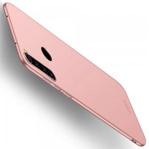 Mofi Slim Armor Матовый жесткий пластиковый чехол для Xiaomi Redmi Note 8 - Светло-Розовый