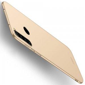 Mofi Slim Armor Матовый жесткий пластиковый чехол для Xiaomi Redmi Note 8 - Золотой