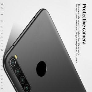 Mofi Slim Armor Матовый жесткий пластиковый чехол для Xiaomi Redmi Note 8T - Черный
