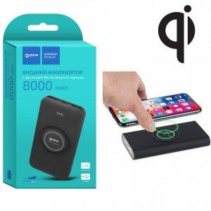 Dream iPower AIR внешний аккумулятор с беспроводной зарядкой QI 8000mAh