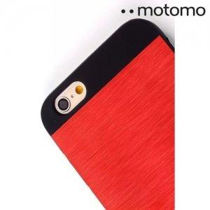 MOTOMO металлический алюминиевый чехол для iPhone 6S / 6 - Красный